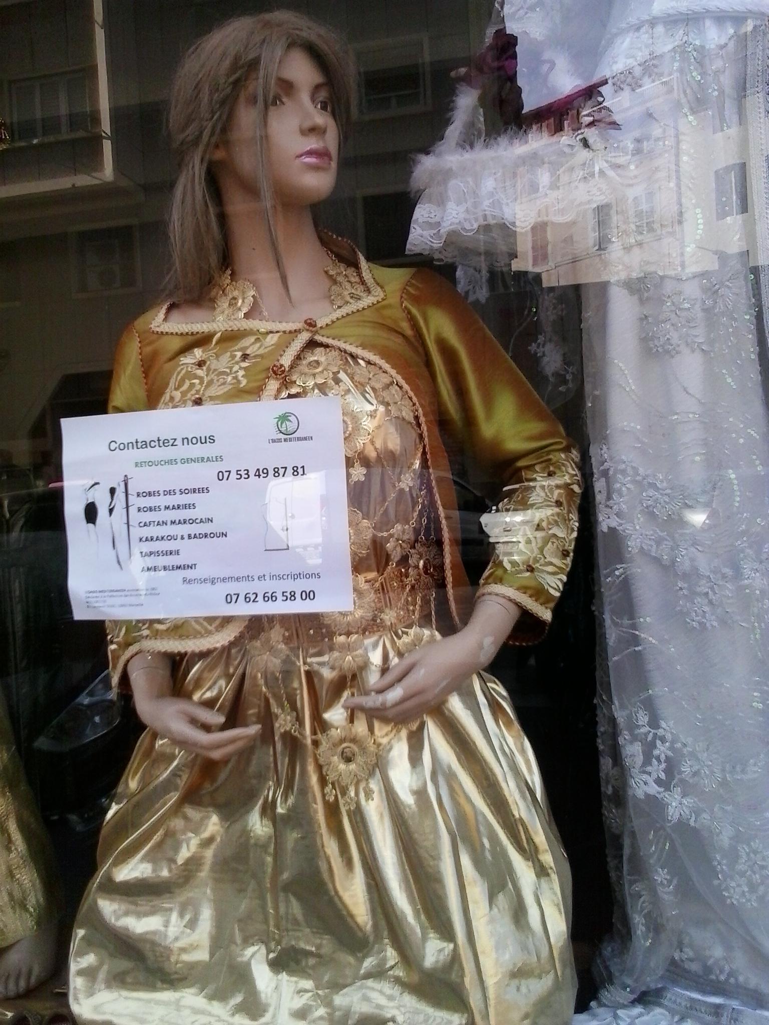 Retouche robe de soiree paris