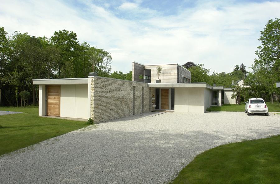 Ma maison contemporaine - Maison de ville architecture contemporaine ...