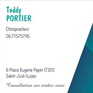 Teddy Portier Chiropracteur